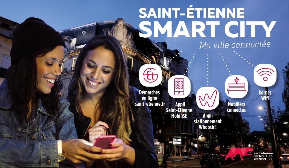 Saint-Etienne smart city