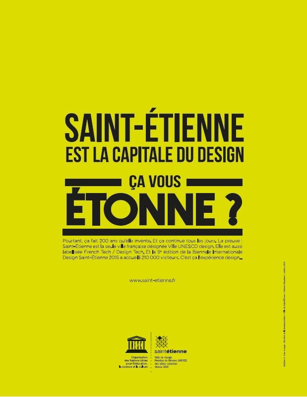 étienne est la capitale du design ça vous étonne site