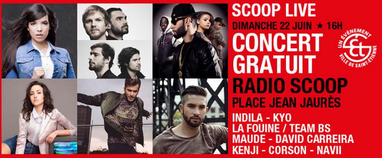 Concert Radio Scoop à Saint-Étienne