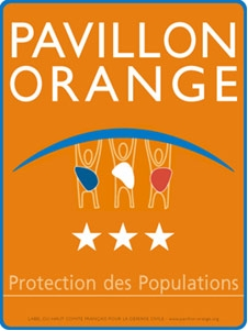 3 étoiles obtenues par la Ville de Saint-Etienne au Label Pavillon Orange