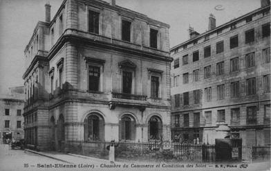 D couvrez l 39 ancienne chambre de commerce site internet de la ville de saint etienne - Chambre du commerce saint etienne ...