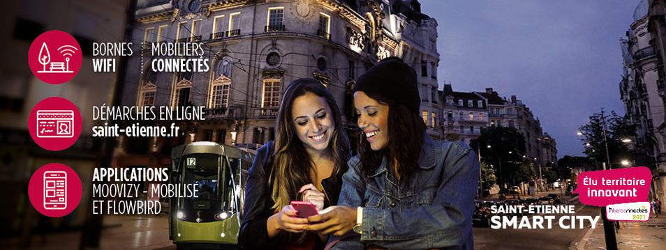 Saint-Etienne smart city