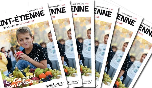 Saint-Étienne le magazine - novembre 2018