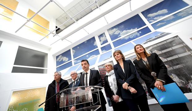 Inauguration de la Maison du projet de Saint-Étienne