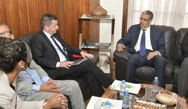 Rencontre avec Aziz Rabbah, Maire de Kénitra au Maroc
