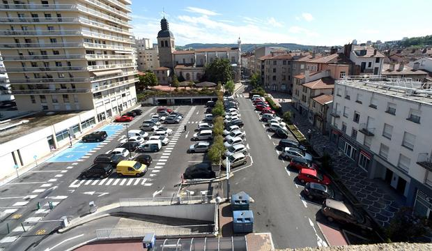 Parking Antoinin Moine - Saint-Etienne