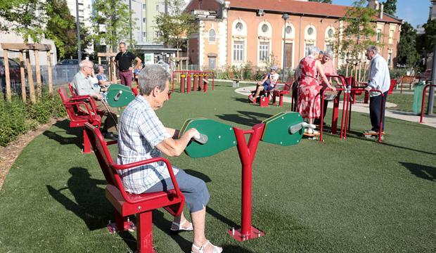 Square Préher : un physio parc pour seniors