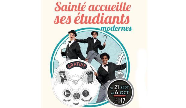 Welcome ! Sainté accueille ses étudiants du 21 septembre au 6 octobre