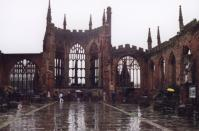 Cathédrale de Coventry, Angleterre