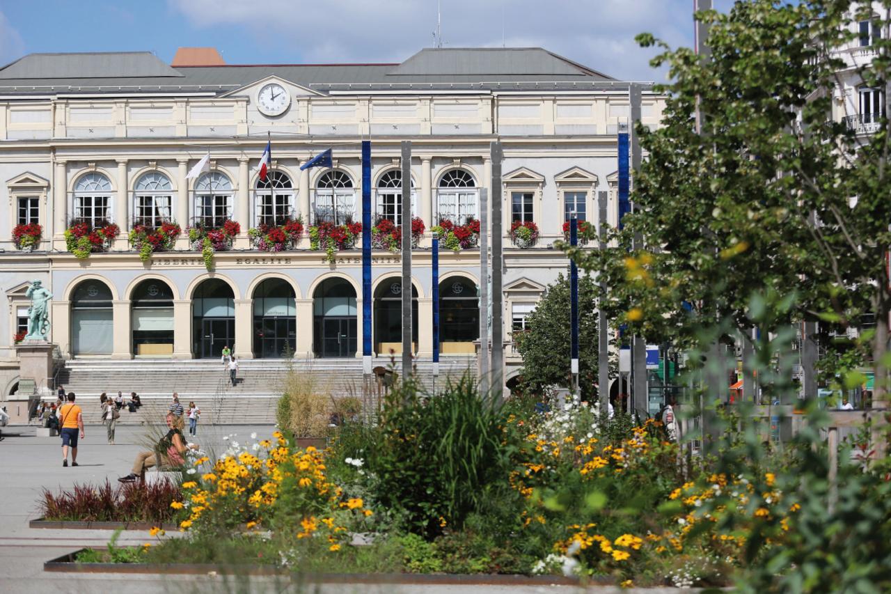 Hotel De Ville Saint Etienne